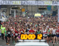 Bath Half Finishing Line
