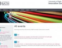 Screen grab of UBIC website