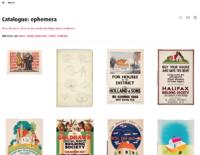 MoDA object catalogue