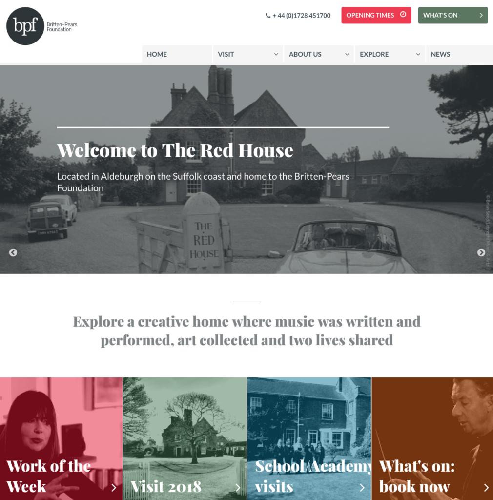 BPF homepage