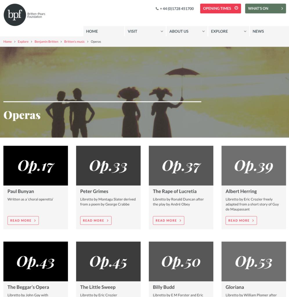 BPF - operas