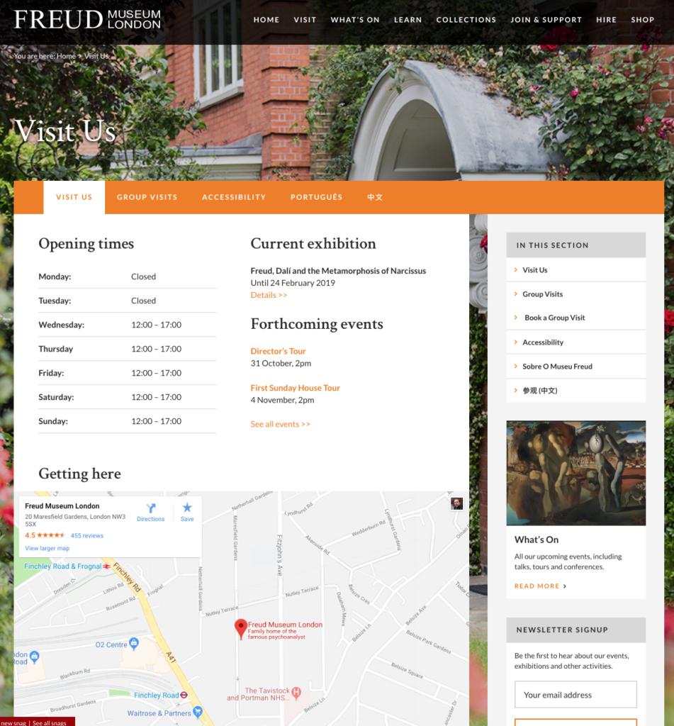 Freud - visit homepage