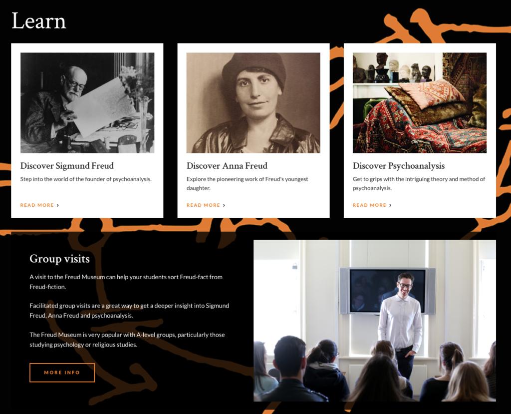 Freud - learning homepage