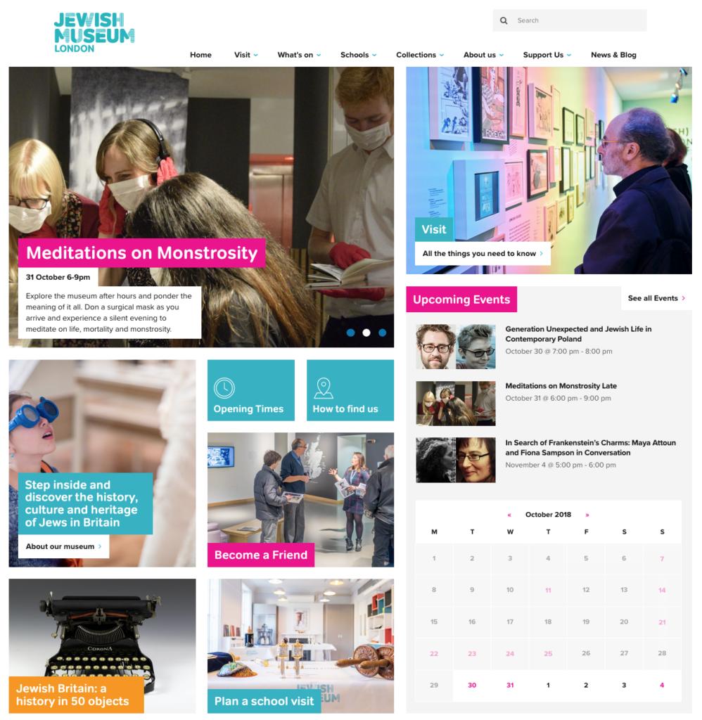 Jewish Museum - homepage